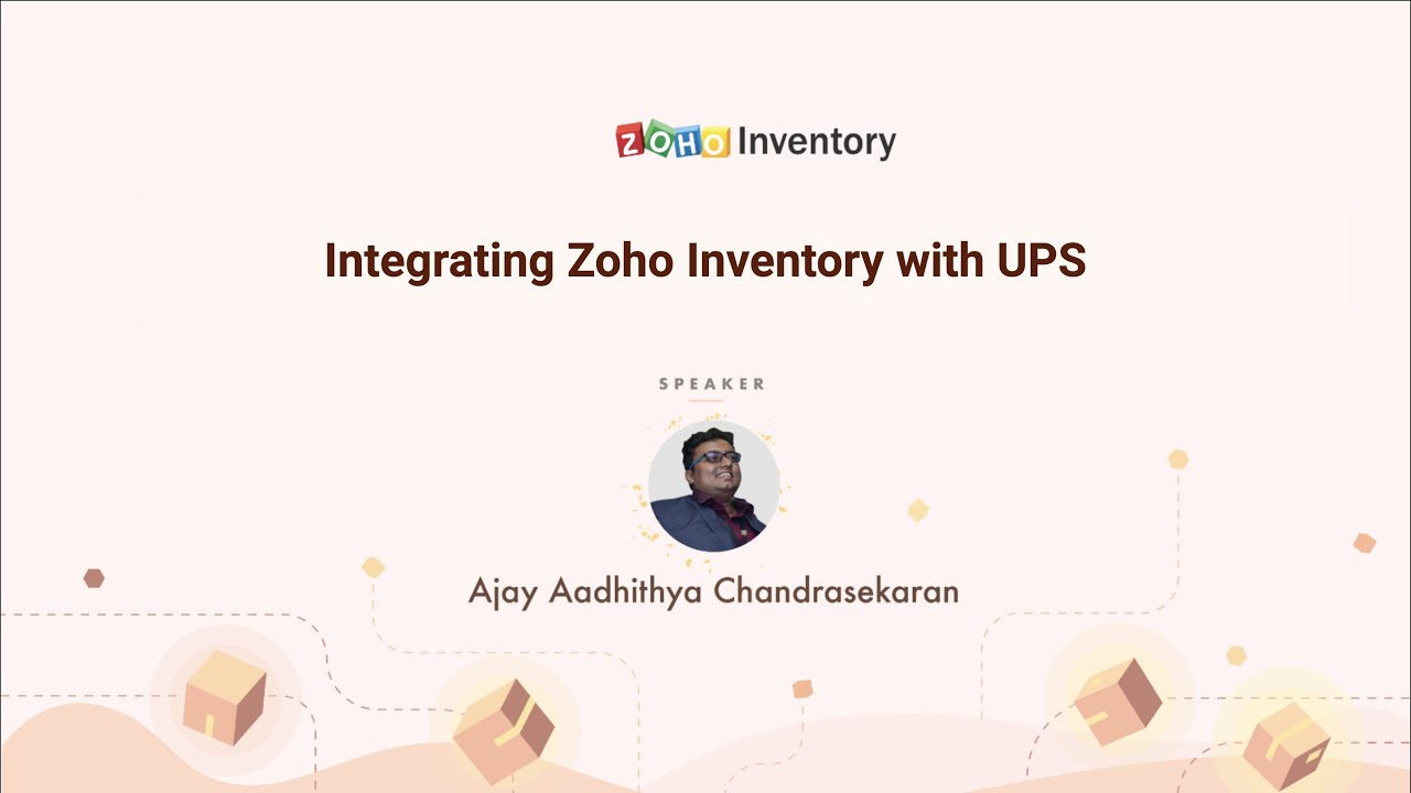 Zoho Inventory and UPS, an integrated approach to order fulfilment