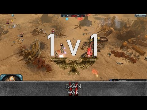 Dawn of War 2: Retribution - 1v1 | Tex [vs] yaay