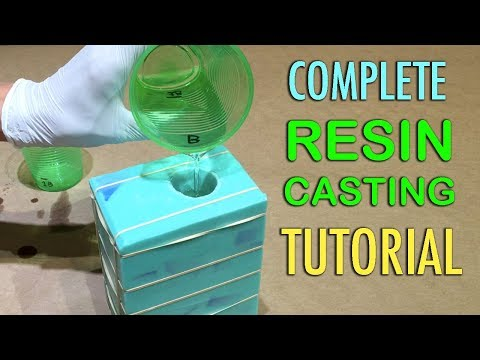 Resin Casting Tutorial – How to Cast Resin