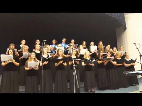 Walton Verona High School Choir.