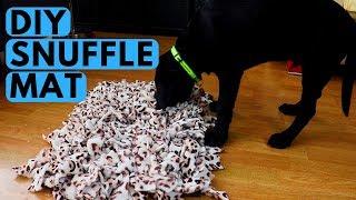 How to Make Dog Snuffle Mat DIY