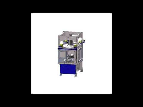 iFPI Automated FPI Rinse/ Penetrant spray station operation