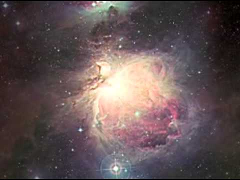 M42 Orion Nebula, zoom into