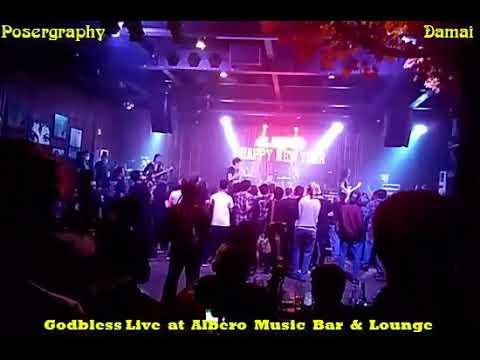 DAMAI - Godbless Live  at  Albero  Music  Bar  &  Lounge