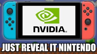Nvidia Is Hinting At A Nintendo Switch revamp