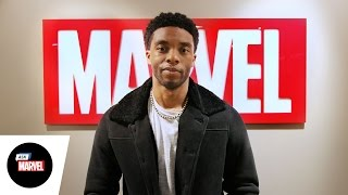 Ask Marvel: Chadwick Boseman — Marvel's Captain America: Civil War