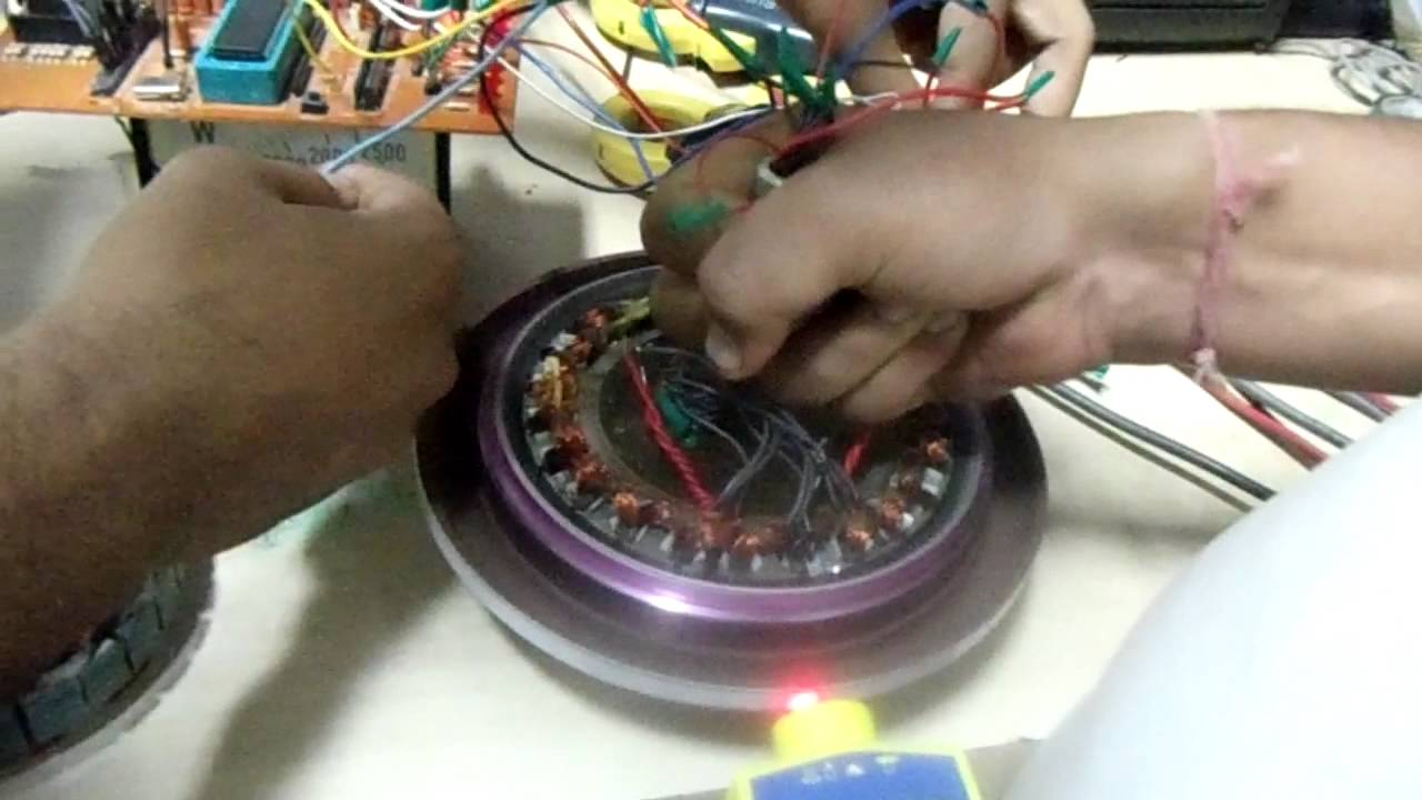 circuit diagram generator brushless dc motor for ceiling fan application youtube  brushless dc motor for ceiling fan application youtube