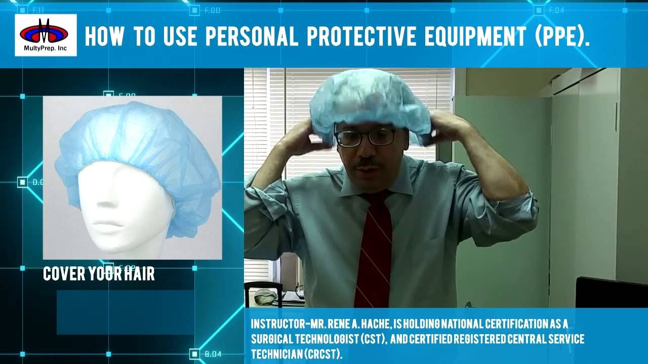 How to use personal protective equipment ppe youtube xflitez Choice Image