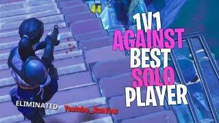 So i 1v1ed the best solo player (iRunYew) - Fortnite