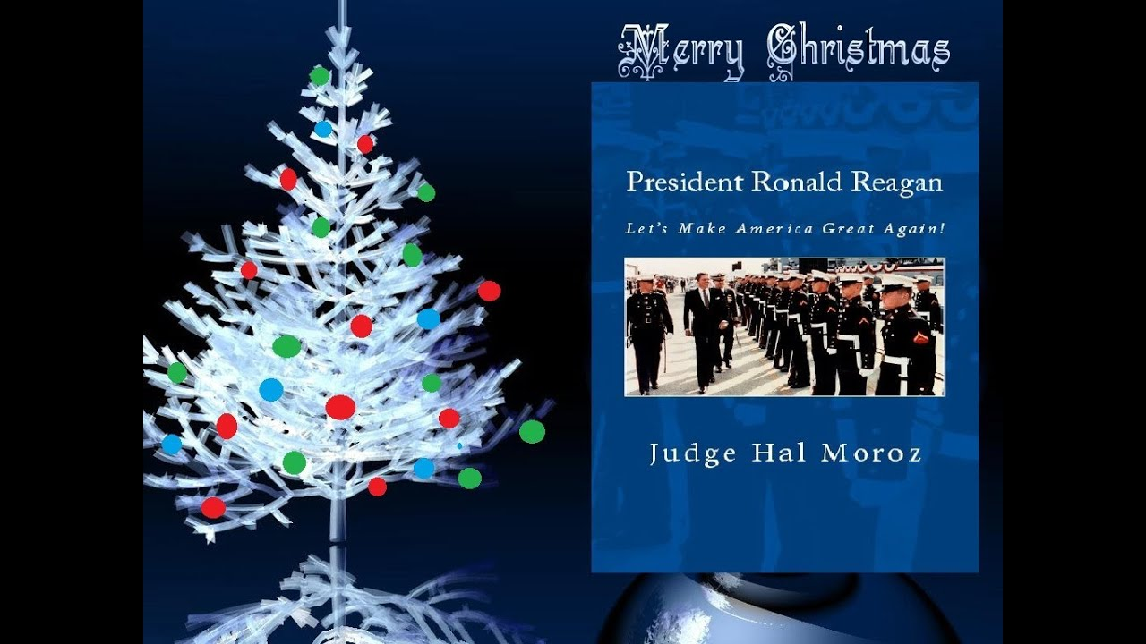 christmas address of president ronald reagan lets make america great again