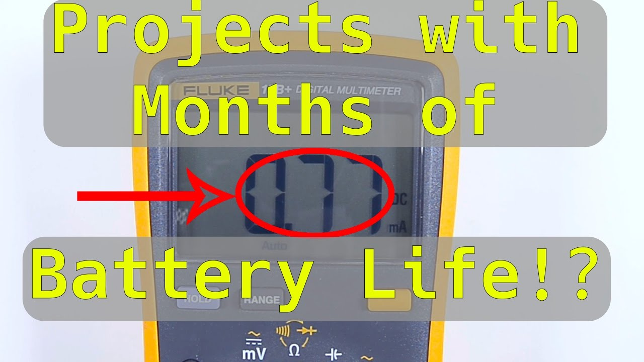 Get Months of Battery Life from an ESP8266!