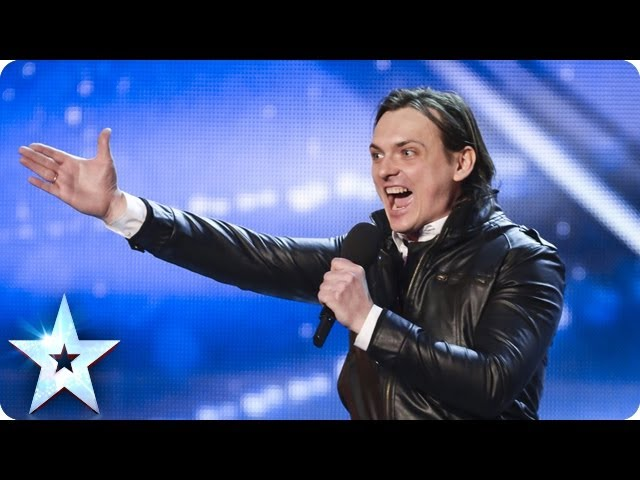 Alexander attempts to rock the place | Britain's Got Talent 2014