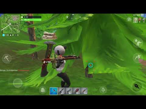 Fortnite Mobile Gameplay On IPhone 6s