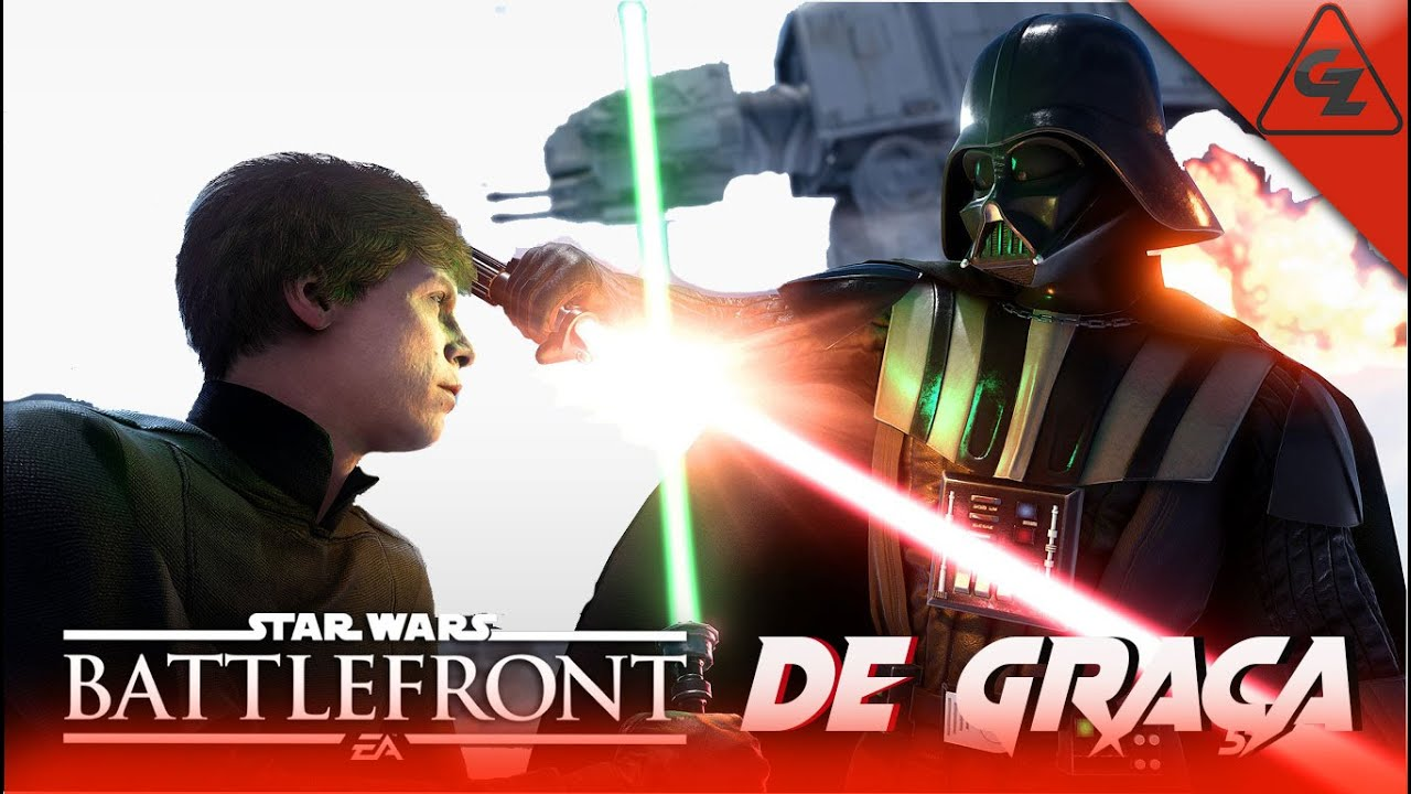 MULTIPLAYER COM  LUKE SKYWALKER - STAR WARS BATTLEFRONT II - JOGOS GRATIS 2021