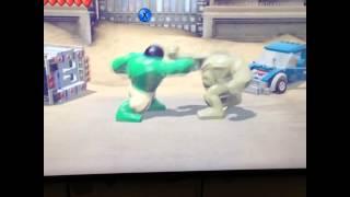 The hulk vs abomination