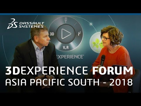 3DEXPERIENCE Forum Asia Pacific South 2018 - Interview with Gavin Yeates - Dassault Systèmes