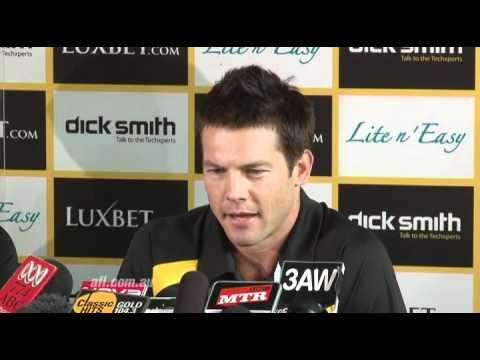 Ben Cousins announces his AFL retirement - Press Conference