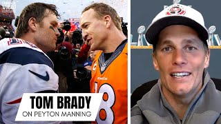Tom Brady Reacts to Peyton Manning Becoming a Hall of Famer & Shares Peyton Manning Memories