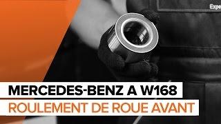 Comment changer Kit de roulement de roue MERCEDES-BENZ A-CLASS (W168) - video gratuit en ligne