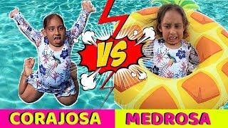 Tipos de crianças na piscina - MC Divertida