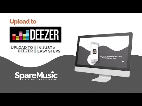 🖥️ HOW TO - Upload Music To Deezer Using SpareMusic.com