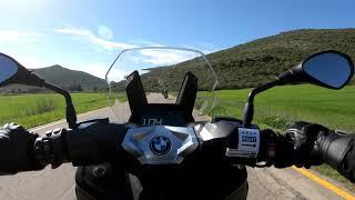 BMW F850GS vs C400X - обзор по ссылке под видео