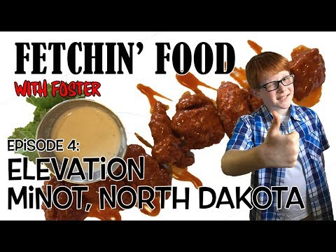 Fetching Food: Elevation, Minot, North Dakota