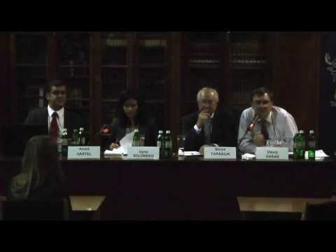 "International Conference ""Kyiv Between the European and Eurasian Unions"": Keynote Panel 1"