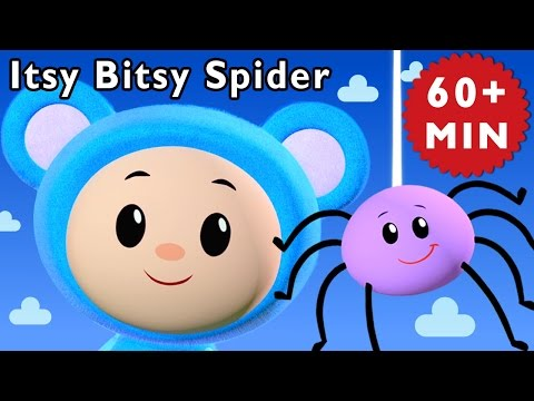 Animal Songs | Itsy Bitsy Spider and More | Nursery Rhymes from Mother Goose Club!