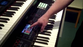 B Street Music - Roland FA-08 Workstation Demo with Scott Berry from Roland US