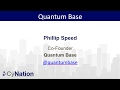 Overview of Quantum Technology Landscape: Quantum Base. Presented by Phillip Speed
