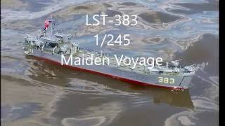 Converted from vintage 1974-issued lindberg 1:245 LST model. Maiden...