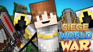 Minecraft: SIEGE WORLD - WAR VS DARK! S1E7 (Clash of Clans + Factions Minecraft!)