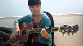 Sẻ chia khoảnh khắc - Guitar cover - Khánh Vy