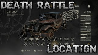 Mad Max 'DEATH RATTLE' Body Location