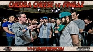 KOTD - 2012 Grand Prix R3 - Chedda Cheese vs Fingaz
