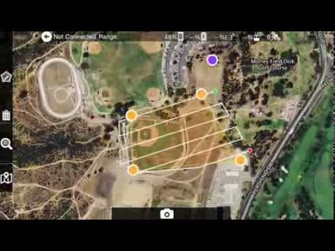 Map Pilot for iOS - Save a Mission with Basemap and Recall it