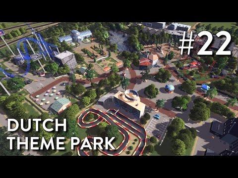 Cities Skylines: Dutch City - Episode 22 - Dutch Theme Park