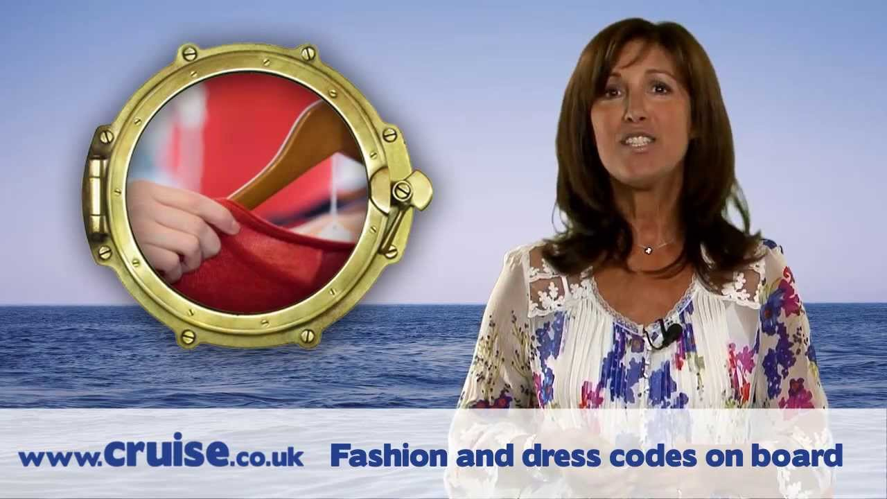 A cruising guide - Fashion and dress codes on board - YouTube