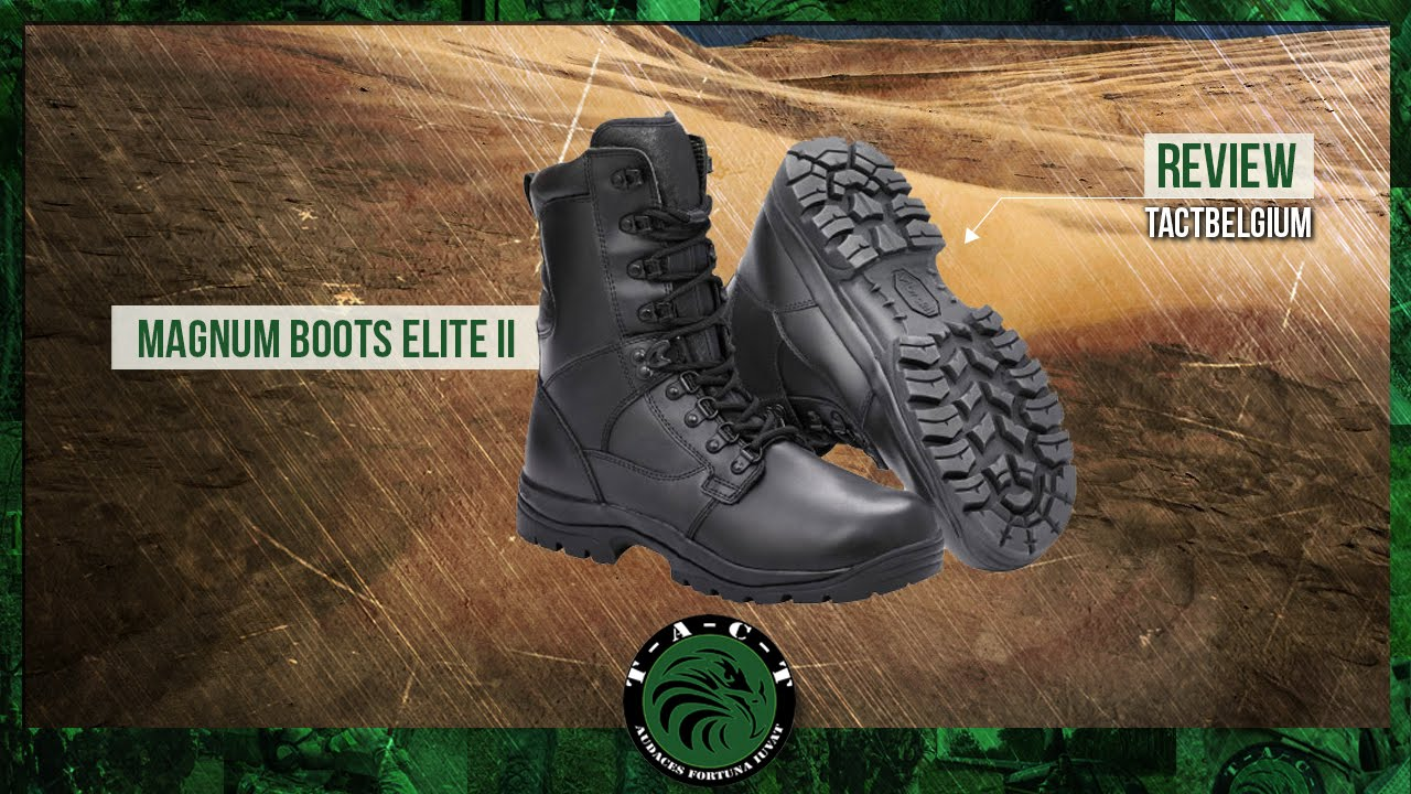 91115bcb1e1 REVIEW - Magnum Boots Elite II Leather - YouTube