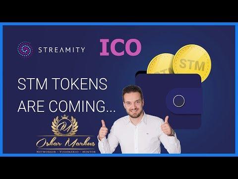 ICO Streamity - Uma exchange lancar a propia criptomoeda - compre agora e aproveite o STM Token