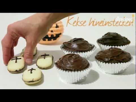 Gruselige Halloween Muffins Halloween Party Rezept Youtube