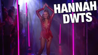 How Was Hannah Brown's First Night on Dancing With The Stars?