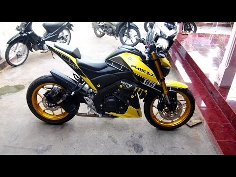 Yamaha Xabre 150 Yellow Modifikasi Monster Smnp Youtube