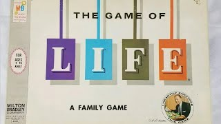Ep. 210: The Game Of Life: Classic 1960 Edition Review  (Milton Bradley)
