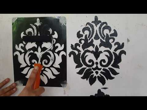 diy:-stencil-making-at-home-ll-wall-painting-ideas.using-old-x-ray-or-files