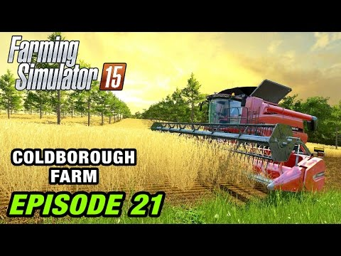 Let's Play Farming Simulator 2015 | Coldborough Farm #21 - English Map