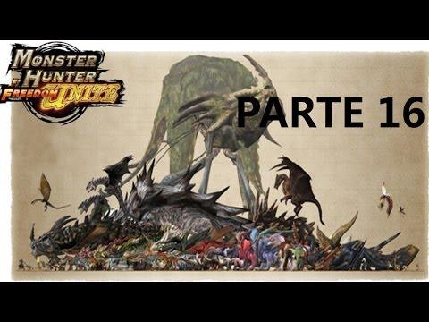 Monster Hunter Freedom Unite PsP parte 16 Khenzu