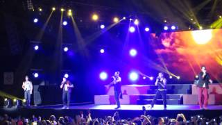 Backstreet Boys - I Want It That Way (Belo Horizonte, Brasil 2015) HD
