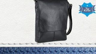 Сумка-планшет мужская черная кожзам купить в Украине - обзор (SBoss_black_titan)